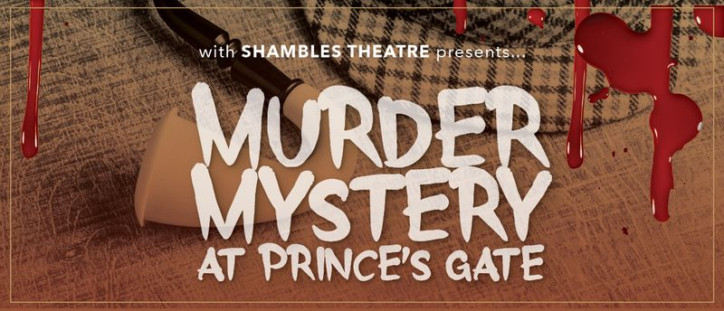 Murder Mystery Dinner & Show graphic