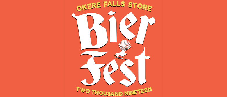 BUY TICKETS	 2019 October Okere Falls Beerfest graphic