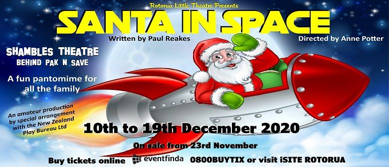 Santa In Space graphic